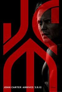"""Teaser poster for Disney's """"John Carter"""" (2012)"""
